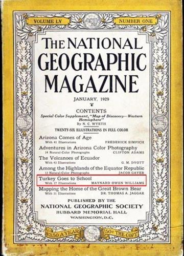 National Geographic'nin Gözünden Harf İnkılabı Yıllarımız galerisi resim 1