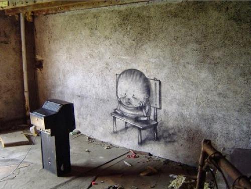 Fransız Sokak Sanatçısı Dran'dan Günümüze Bakış galerisi resim 2