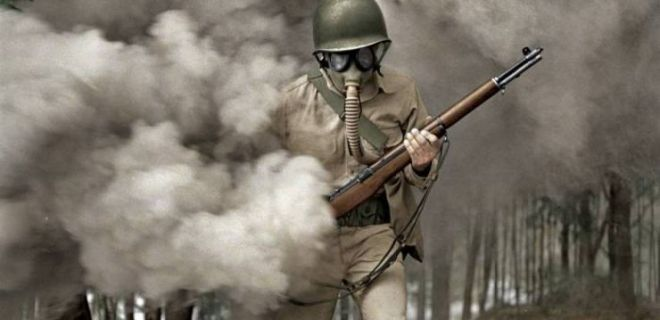 Renklendirilmiş Fotoğraflarla 2. Dünya Savaşı