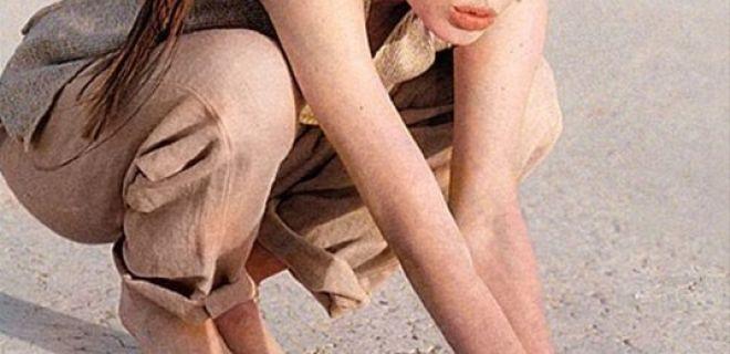 Angelina Jolie'nin Eski Fotoğrafları