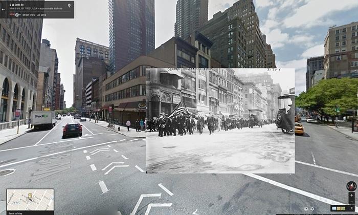 Google Maps üzerinden 1 Dünya Savaşı Görüntüleri Foto Galerisi