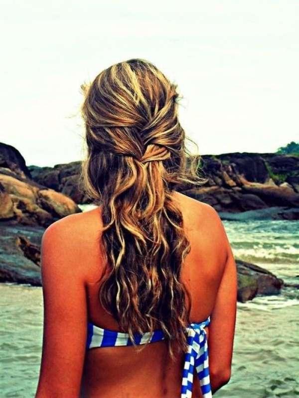 Plajda En Güzel Saç Modelleri galerisi resim 5