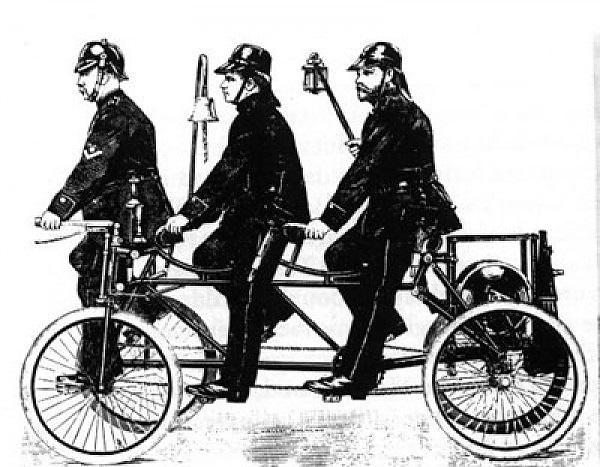 картинка пожарный велосипед секцию
