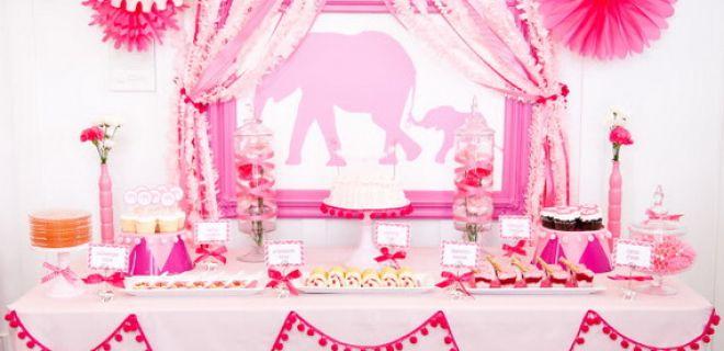 En Güzel Baby Shower Masaları ve Aksesuarları