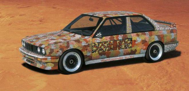BMW Yarış Arabalarını Tuvale Dönüştürme Akımı
