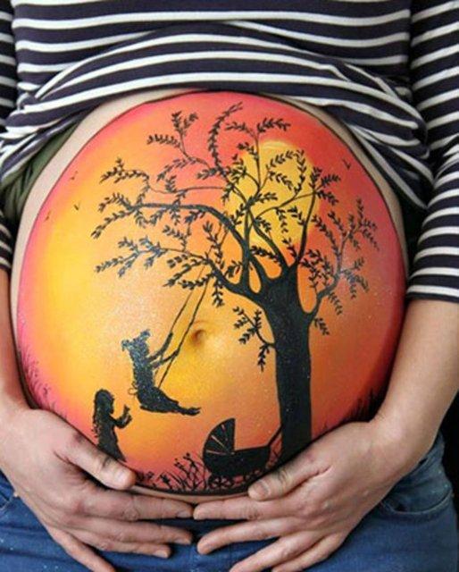 Hamile Kadınların Modası galerisi resim 1