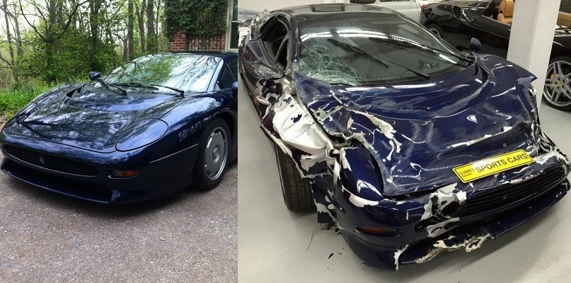 Lüks Otomobillerin Parçalandığı Kazalar galerisi resim 1