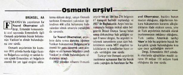 Yok Edilmek İstenen Osmanlı Belgeleri galerisi resim 2