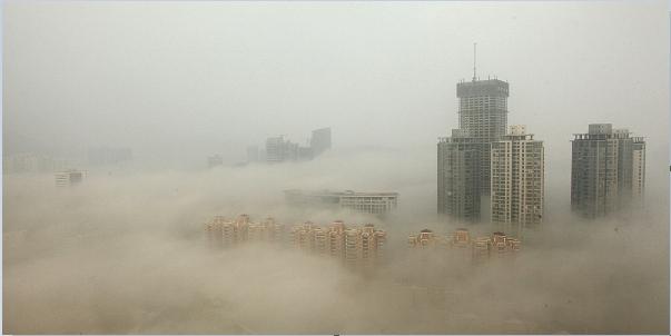 Pekin'in Kirli Havasını Gözler Önüne Seren 10 Çarpıcı Fotoğraf galerisi resim 1