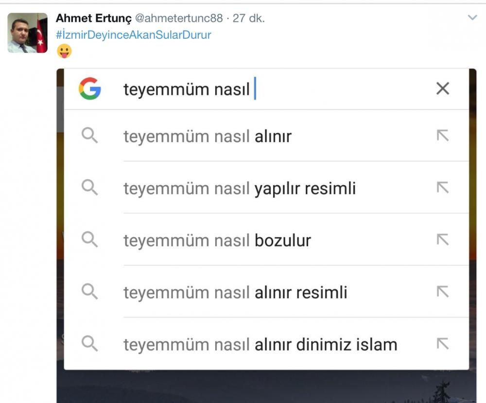 İzmir Susuz Kaldı Twitter Coştu! galerisi resim 1