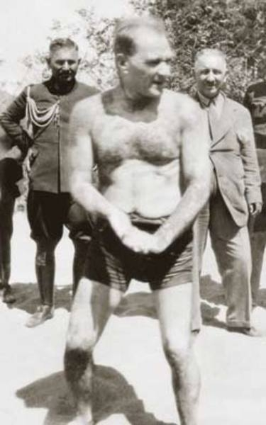 Mustafa Kemal Atatürk'ün İlk Defa Göreceğiniz Albümü galerisi resim 24