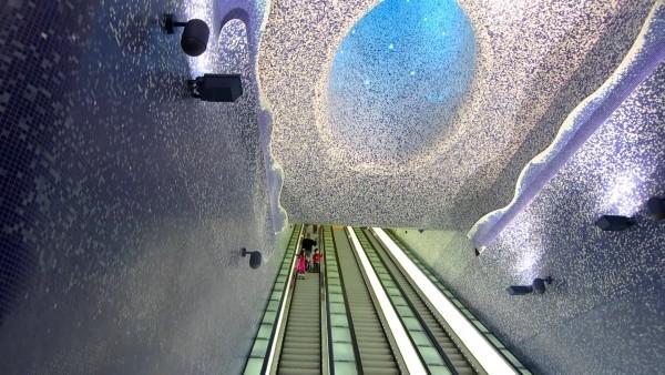 Dünyanın En İlginç Metro İstasyonları galerisi resim 1