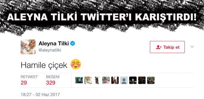 Aleyna Tilki Twitter'ı Karıştırdı!