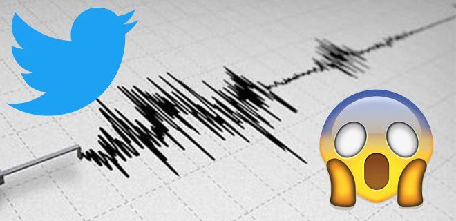 Deprem Üzerine Atılan Tweetler