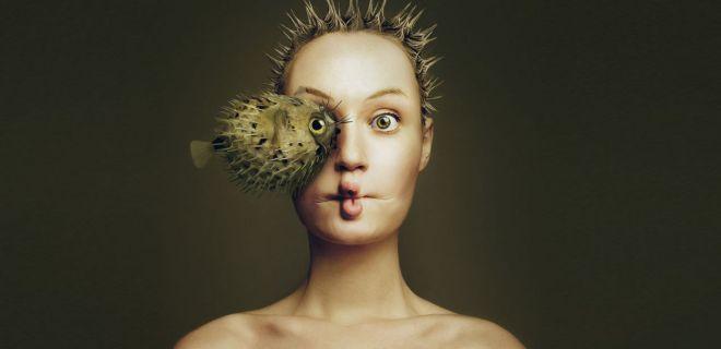Kendini Hayvanlarla Bütünleyen Sanatçı