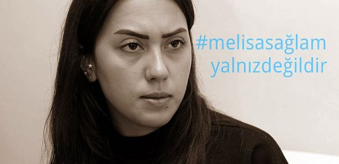 Melisa Sağlam'a Sosyal Medyadan Destek