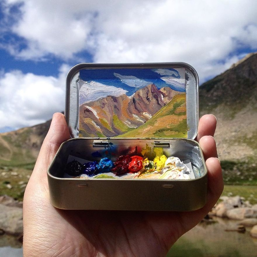 Şeker Kutusunda Minik Manzaralar galerisi resim 1