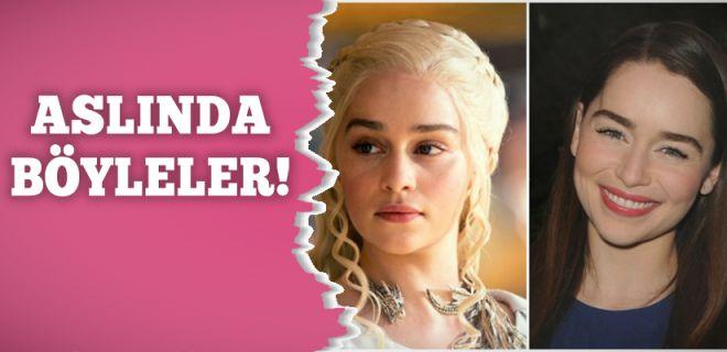 Game of Thrones Oyuncularının Gerçek Halleri