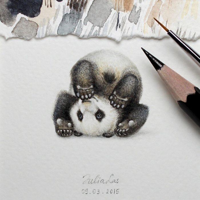 Minyatür Hayvan Çizimleri galerisi resim 1