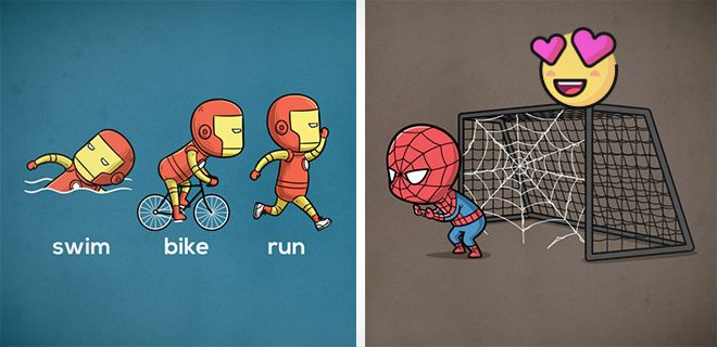 Süper Kahramanların Özel Gücüne Uygun Sporlar