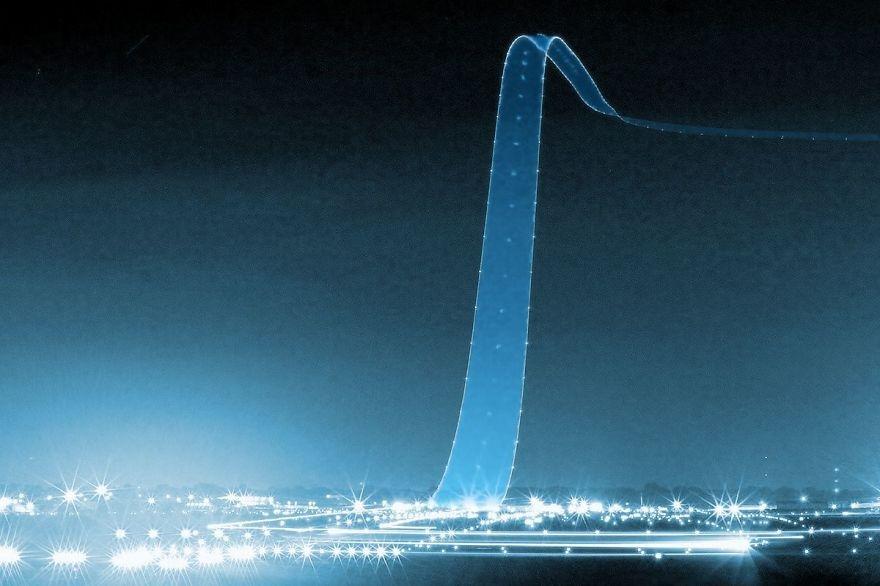 Uzun Pozlama Tekniğiyle Işık Dansları galerisi resim 1