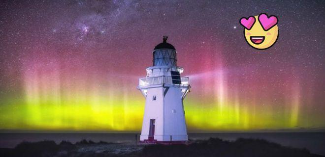Yeni Zelanda'dan Büyüleyici Gökyüzü Fotoğrafları