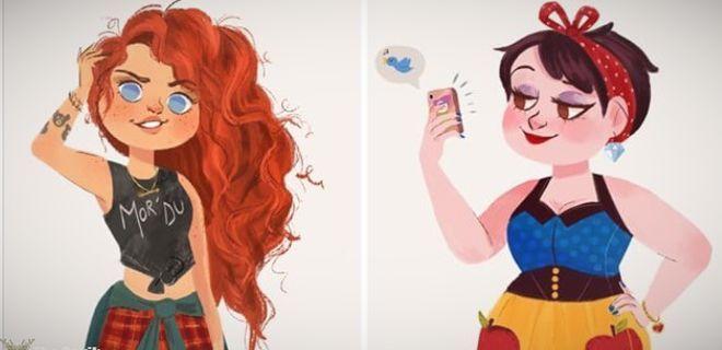 Disney Prenseslerinin Günümüzdeki Meslekleri
