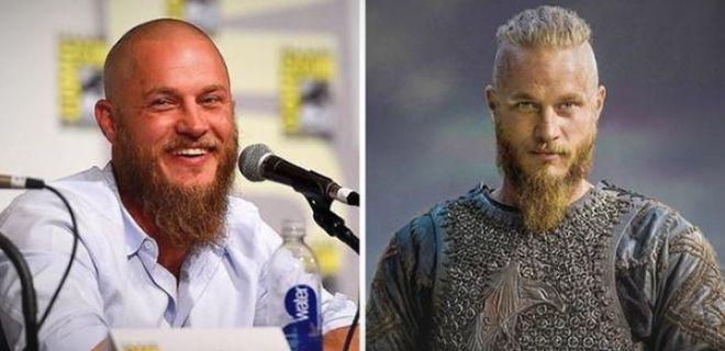 Vikings Dizisindeki Oyuncuların Gerçek Halleri