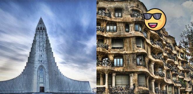 Avrupa'da Görebileceğiniz En Değişik Yapılar