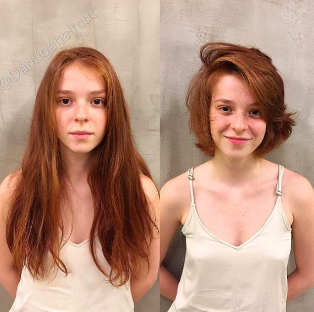 Saçlarını Kısa Kestirmekten Korkanlar İçin... galerisi resim 16