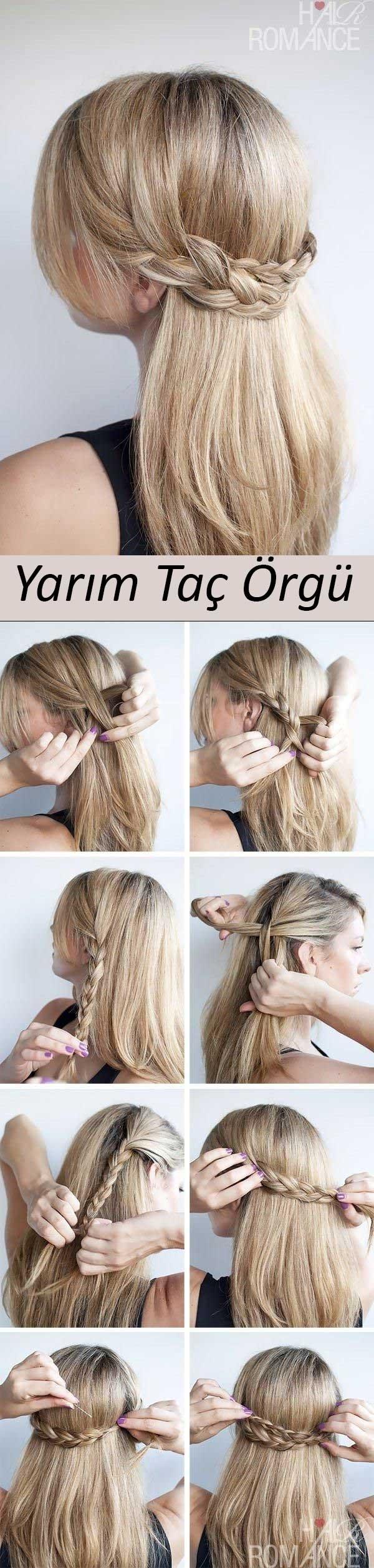 Şipşak Evden Çıkmalık Pratik Saç Modelleri galerisi resim 10