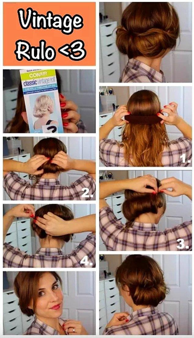 Şipşak Evden Çıkmalık Pratik Saç Modelleri galerisi resim 18