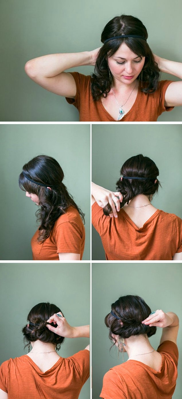 Şipşak Evden Çıkmalık Pratik Saç Modelleri galerisi resim 19