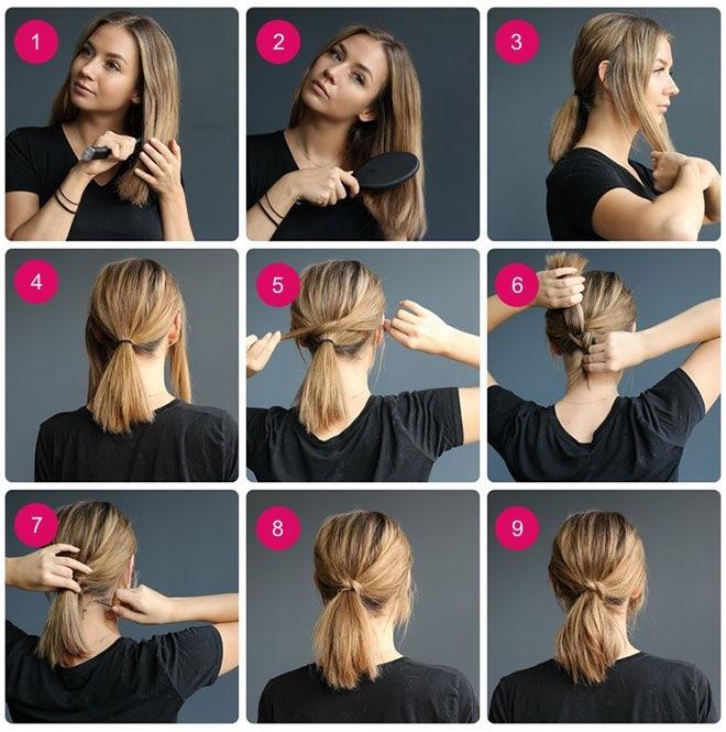 Şipşak Evden Çıkmalık Pratik Saç Modelleri galerisi resim 24