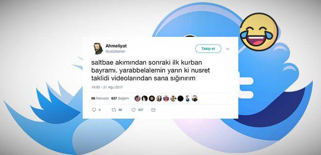Bayram İçin Atılmış Komik Tweet'ler