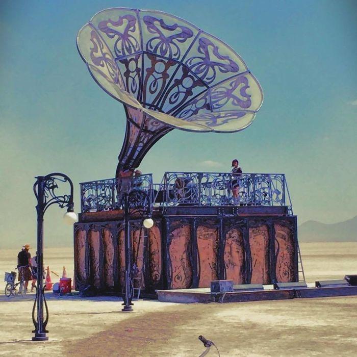 Burning Man 2017'den Renkli Kareler galerisi resim 14