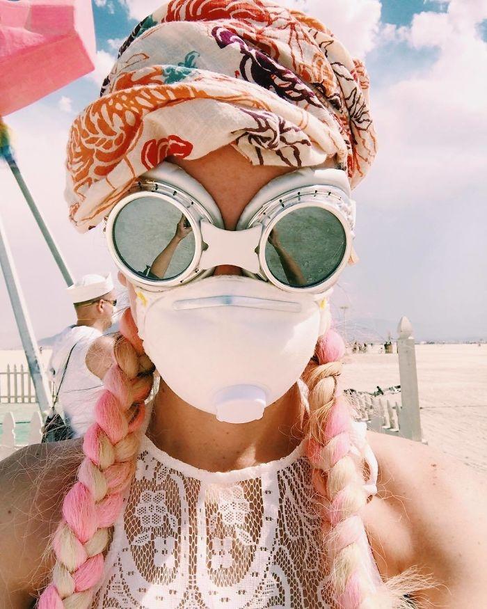 Burning Man 2017'den Renkli Kareler galerisi resim 15