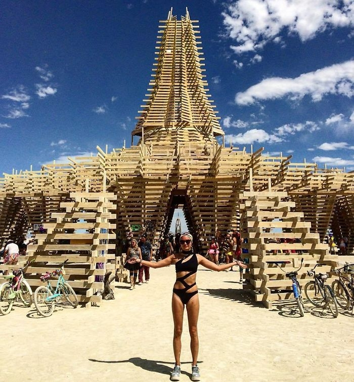 Burning Man 2017'den Renkli Kareler galerisi resim 4