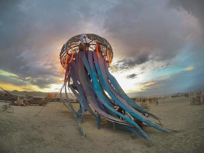 Burning Man 2017'den Renkli Kareler galerisi resim 6