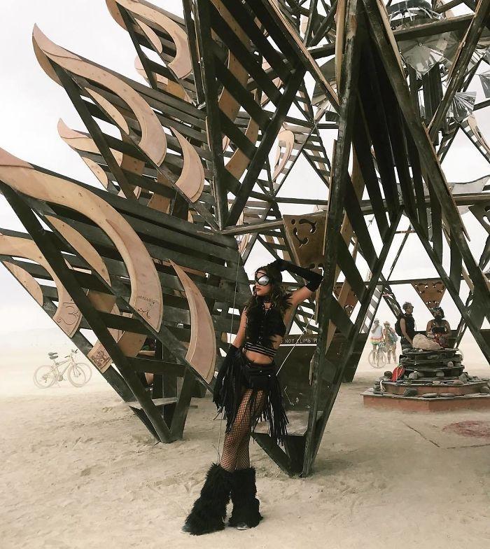 Burning Man 2017'den Renkli Kareler galerisi resim 7
