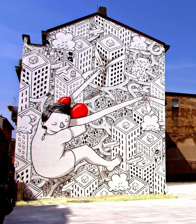 Dünyanın Farklı Yerlerindeki Sokak Sanatları galerisi resim 13