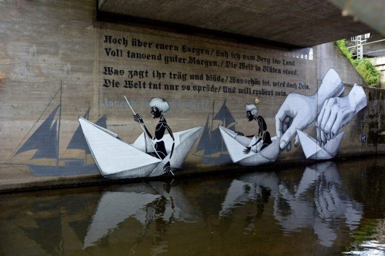 Dünyanın Farklı Yerlerindeki Sokak Sanatları galerisi resim 15