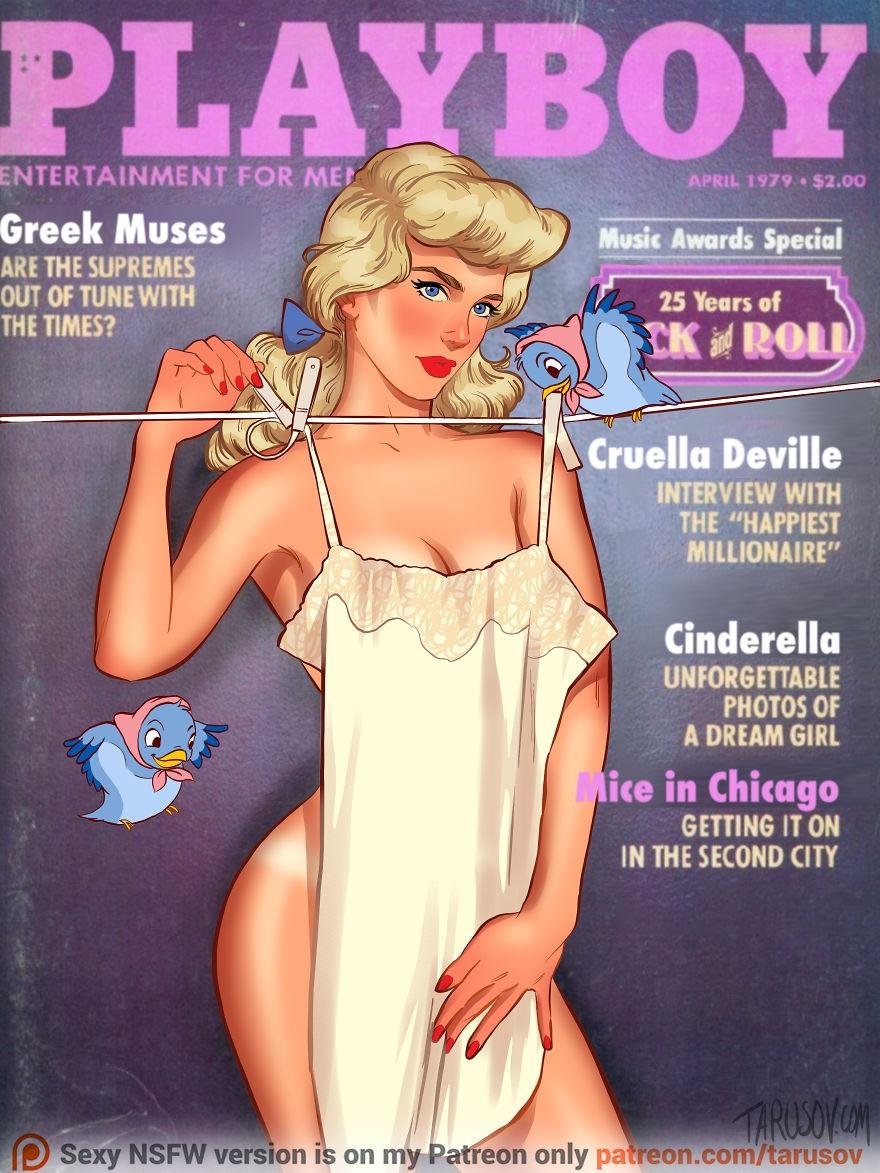 Disney Prensesleri Playboy Dergisi Kapağında galerisi resim 11