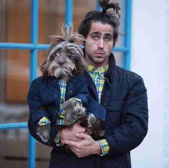 Köpeğiyle Kendini İkiz Gören Adam galerisi resim 10