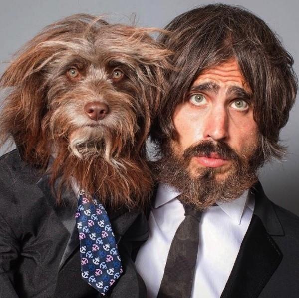 Köpeğiyle Kendini İkiz Gören Adam galerisi resim 15