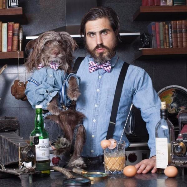 Köpeğiyle Kendini İkiz Gören Adam galerisi resim 17