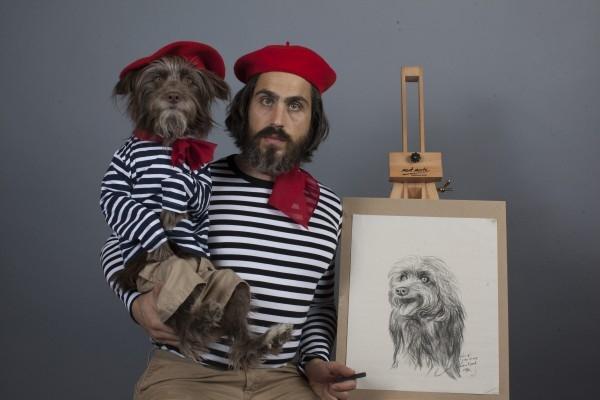 Köpeğiyle Kendini İkiz Gören Adam galerisi resim 5
