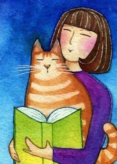 Kedili Kadınların Hayatlarını Aktaran Minimal Çizimler galerisi resim 3