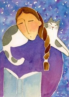 Kedili Kadınların Hayatlarını Aktaran Minimal Çizimler galerisi resim 6