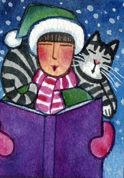 Kedili Kadınların Hayatlarını Aktaran Minimal Çizimler galerisi resim 9